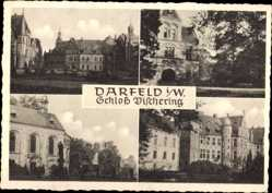 Postcard Darfeld Rosendahl in Westfalen, Blick auf Schloss Vischering, Fassade