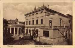Postcard Viersen in Nordrhein Westfalen, Städtisches Lyzeum, Gartenansicht