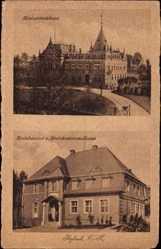 Ak Rybnik Schlesien, Kreisständehaus, Kreisbauamt, Kreiskommunalkasse