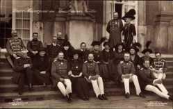 Ak Kaiser Wilhelm II. von Preußen, Kaiserhaus, Generäle, Prinzen, Liersch 4682