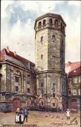 Künstler Ak Flower Charles, Bayreuth Oberfranken, Alter Schlossturm, Tuck
