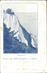 Postcard Stubbenkammer Sassnitz auf der Insel Rügen, Königsstuhl