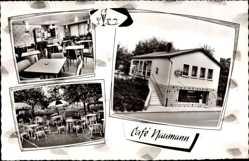 Postcard Kirchvers Lohra in Hessen, Cafe Ernst Naumann