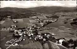 Postcard Haibühl Arrach im Bayerischen Wald Oberpfalz, Fliegeraufnahme, Gesamtansicht
