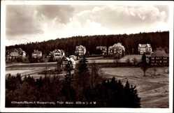 Postcard Masserberg im Thüringer Schiefergebirge, Blickauf den Ort
