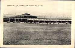 Postcard Delhi Indien, Amphitheatre Coronation, Durbar, 1911