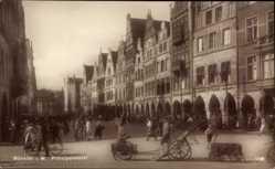 Postcard Münster in Westfalen, Blick auf den Prinzipalmarkt