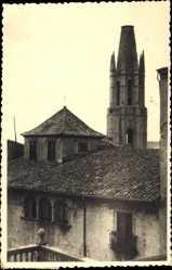 Foto Ak Gerona Katalonien, Blick auf die Kirche San Félix