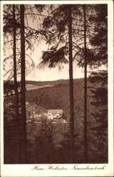 Postcard Neudambach Hildburghausen, Sicht auf das Haus Hubertus
