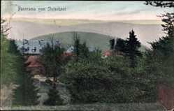 Postcard Schmiedefeld am Rennsteig Thüringen, Panorama vom Stutenhaus