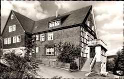 Postcard Nordenau Schmallenberg im Hochsauerland, Haus in der Sonne, Inhaber Albers