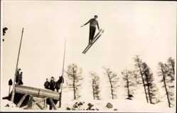 Foto Ak Klingenthal im Vogtland Sachsen, Deutsche Ski Heeresmeisterschaften 1929