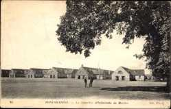Ak Pontanazene Loire Atlantique, Le Quartier d'Infanterie de Marine