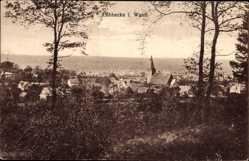 Postcard Lübbecke in Ostwestfalen, Gesamtansicht aus der Ferne