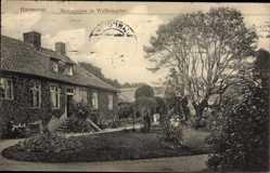 Postcard Hannover in Niedersachsen, Restauration im Welfengarten