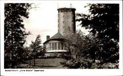 Postcard Bilstein Lennestadt im Sauerland im Kreis Olpe, Aussichtsturm Hohe Bracht