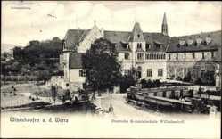 Postcard Witzenhausen im Werra Meißner Kreis, Deutsche Kolonialschule Wilhelmshof