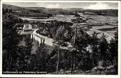 Postcard Plettenberg im Märkischen Kreis, Blick auf die Oestertalsperre