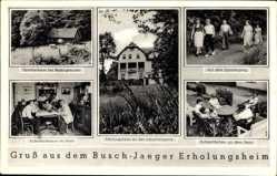 Postcard Buschjäger Lünen in Nordrhein Westfalen, Familienheim, Erholungsheim