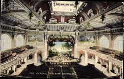 Postcard Harrogate Knaresborough Yorkshire England, The Kursaal Interior