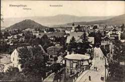 Ak Karpacz Krummhübel Riesengebirge Schlesie, Pfaffenberg, Totale