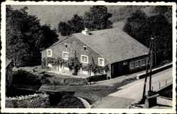 Postcard Cornimont Semois Wallonien Namur, La maison de vacances