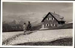 Foto Ak Jesenice Slowenien, Kadilnikova koca VRH Golice, Gebirge
