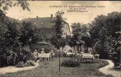 Postcard Stelle im Kreis Harburg, Ausflugsort mit Garten, Inhaber Karl Hüsing