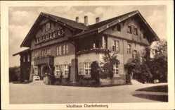Postcard Sommerfeld Kremmen im Kreis Oberhavel, Blick auf das Waldhaus Charlottenburg