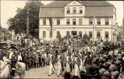 Foto Ak Bad Düben an der Mulde Sachsen, 1000 Jahrfeier, Festumzug, Ratskeller