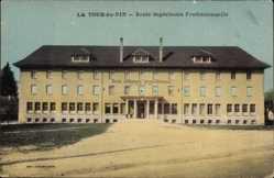 Postcard La Tour du Pin Isère, École Supérieure Professionelle
