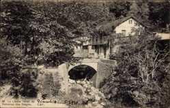 Postcard Blida Algerien, Le Chalet Hôtel du Ruisseau des Singes