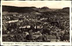Postcard Bad Kissingen Unterfranken Bayern, Blick vom Jagdhaus auf den Ort