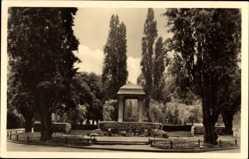 Postcard Zeitz an der Weißen Elster im Burgenlandkreis, Karl Marx Promenade
