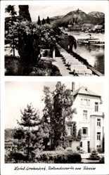Postcard Rolandswerth Remagen im Kreis Ahrweiler, Hotel Gretenhof, Handrick Becher