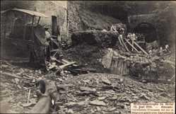 Postcard Altenahr im Kreis Ahrweiler Rheinland Pfalz, Wetterkatastrophe 13. Juni 1910