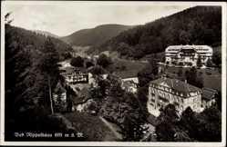 Postcard Bad Rippoldsau Schapbach im Schwarzwald, Teilansicht der Ortschaft