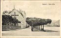 Ak Boppard im Rhein Hunsrück Kreis, Rhein Allee, Haushaltungs Pensionat