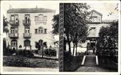 Postcard Bad Kissingen Unterfranken Bayern,Villen Betzer u. Staffelsberg, Rosenstr. 9