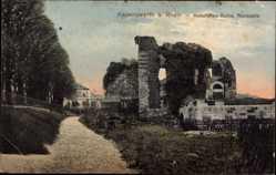 Postcard Kaiserswerth Düsseldorf Nordrhein Westfalen, Kaiserpfalz Ruine, Nordseite