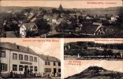 Postcard Kelberg im Kreis Vulkaneifel, Gasthaus zum Jägerhof, Marner, Nürburg,Kreuzweg
