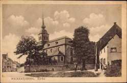 Postcard Wickrathberg Mönchengladbach in Nordrhein Westfalen, Ansicht der Kirche