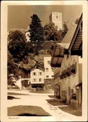 Postcard Neubeuern im Kreis Rosenheim Oberbayern, Platz, Turm