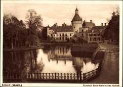 Postcard Anholt Isselburg, Fürstlich Salm Salmsches Schloss