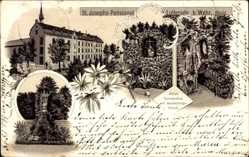 Litho Wehr Eifel, St. Josephs Pensionat Lutterade, Töchterschule