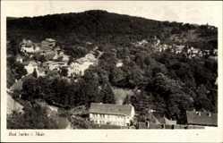 Postcard Bad Sulza im Weimarer Land Thüringen, Gesamtansicht vom Ort
