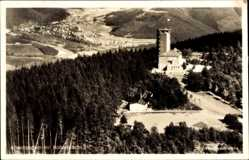 Postcard Lennestadt im Sauerland im Kreis Olpe, Altenhundem mit Hohe Bracht