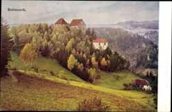 Postcard Rabeneck Waischenfeld in der Fränkischen Schweiz Bayern, Gebäude, Wald