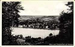 Postcard Mehlem Bonn in Nordrhein Westfalen, Blick vom Drachenfels auf den Ort