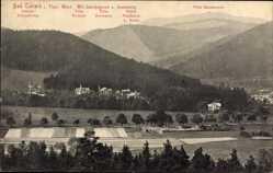 Postcard Tabarz im Thüringer Wald, Lauchagrund, Inselsberg, Villa Germania, Fortuna